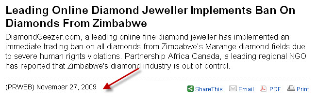 Zimbabwe's Marange diamond fields