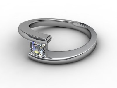 06-6600-2009 Diamond Ring Image - 01