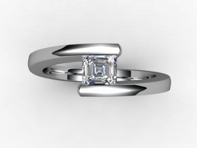 06-6600-2009 Diamond Ring Image - 04
