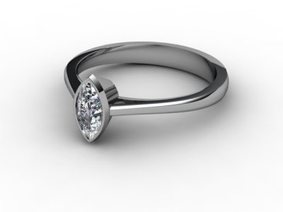 07-6600-0017 Diamond Ring Image - 01
