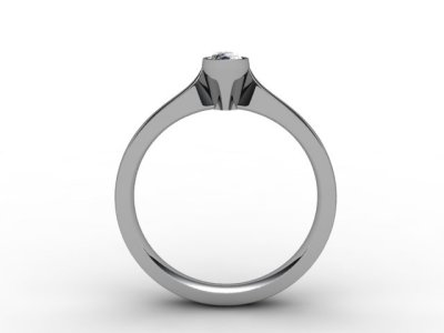07-6600-0018 Diamond Ring Image - 02