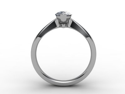 08-0100-0007 Diamond Ring Image - 02
