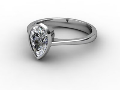08-6600-0003 Diamond Ring Image - 01