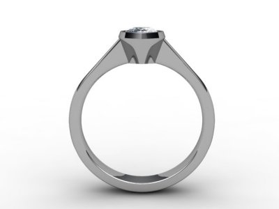 08-6600-0003 Diamond Ring Image - 02