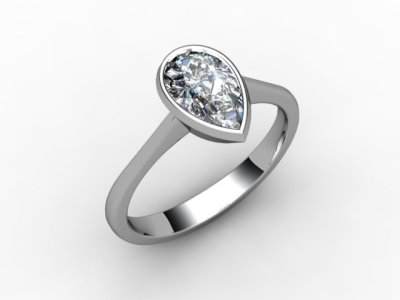 08-6600-0003 Diamond Ring Image - 05