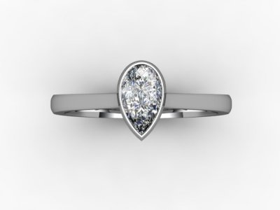 08-6600-0014 Diamond Ring Image - 04