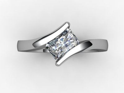 10-6600-1909 Diamond Ring Image - 04