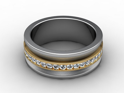 69-28021 Diamond Ring Image -01