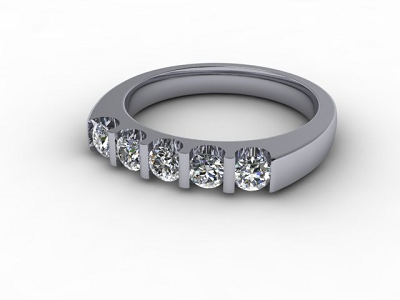 88-01056 Diamond Ring Image - 01