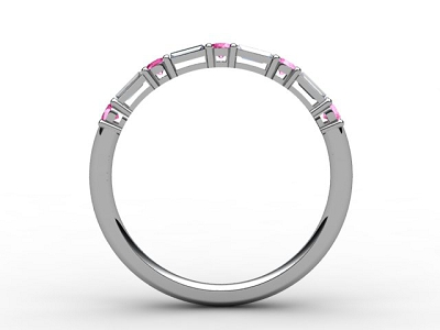 88-05083-124 Diamond Ring Image - 02