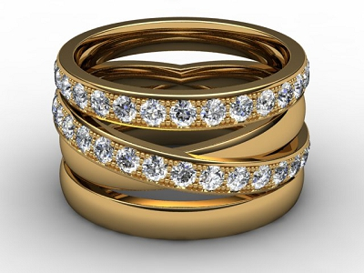 88-28123 Diamond Ring Image -01
