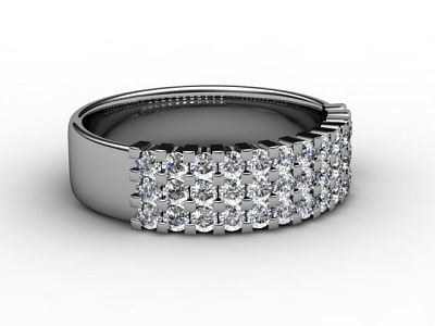 88-66067 Diamond Ring Image - 01