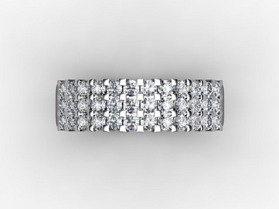 88-66067 Diamond Ring Image - 04