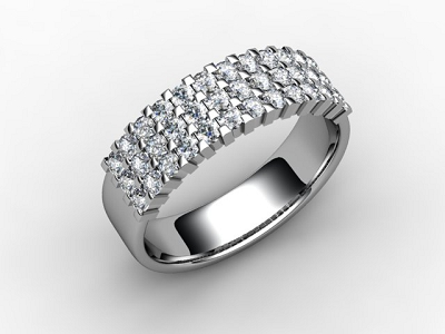 88-66067 Diamond Ring Image - 05