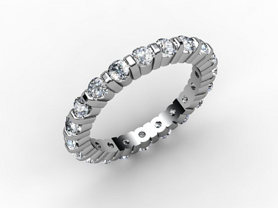 88-66096 Diamond Ring Image - 05
