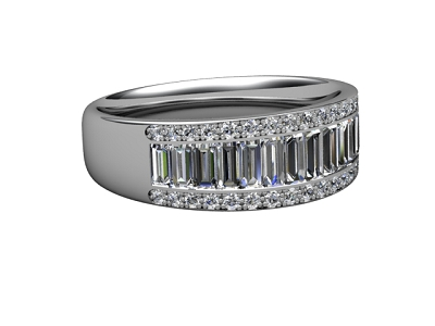 88-66130 Diamond Ring Image -01