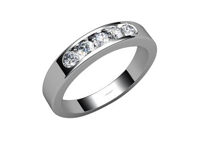 w88-66036 Diamond Ring Image - 01
