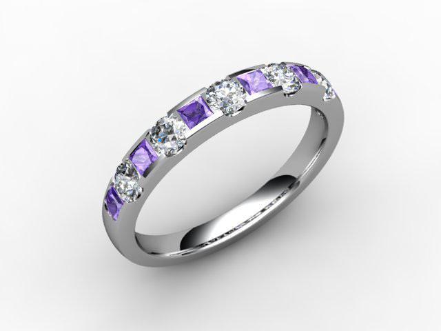 Diamond Geezer Eternity Rings